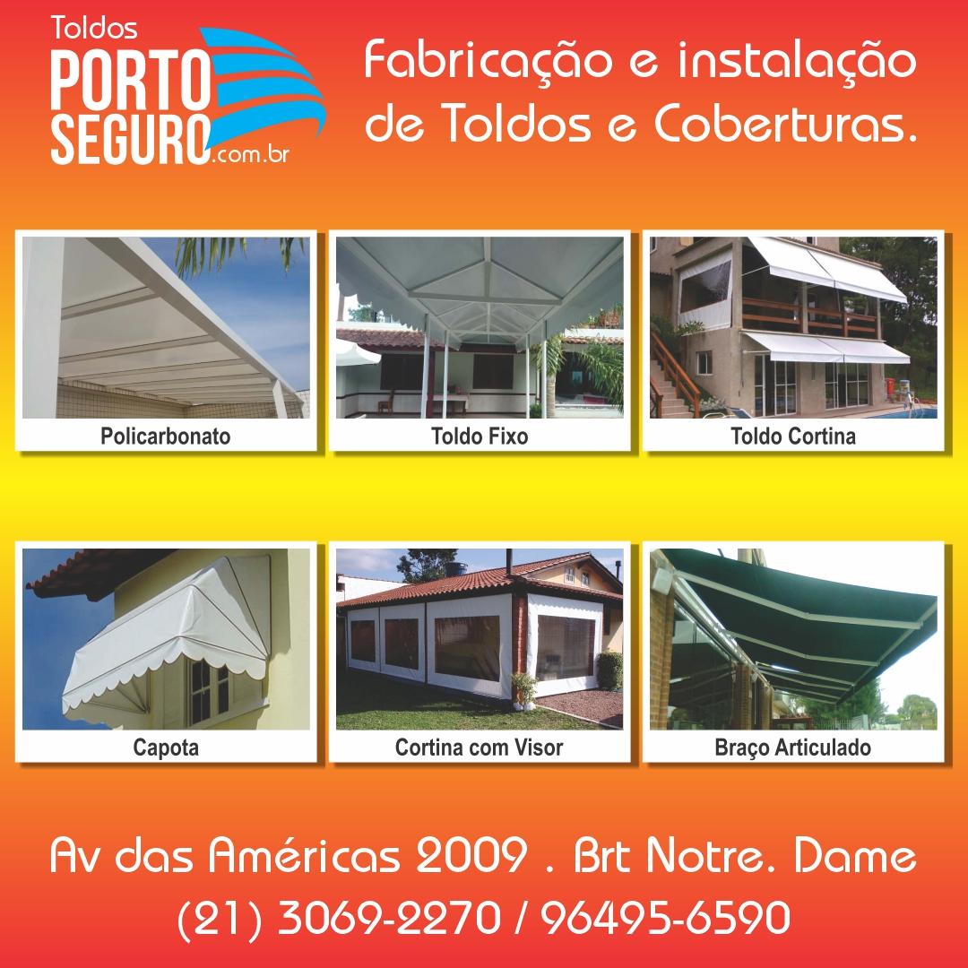 Toldos Porto Seguro, Toldos e Coberturas.