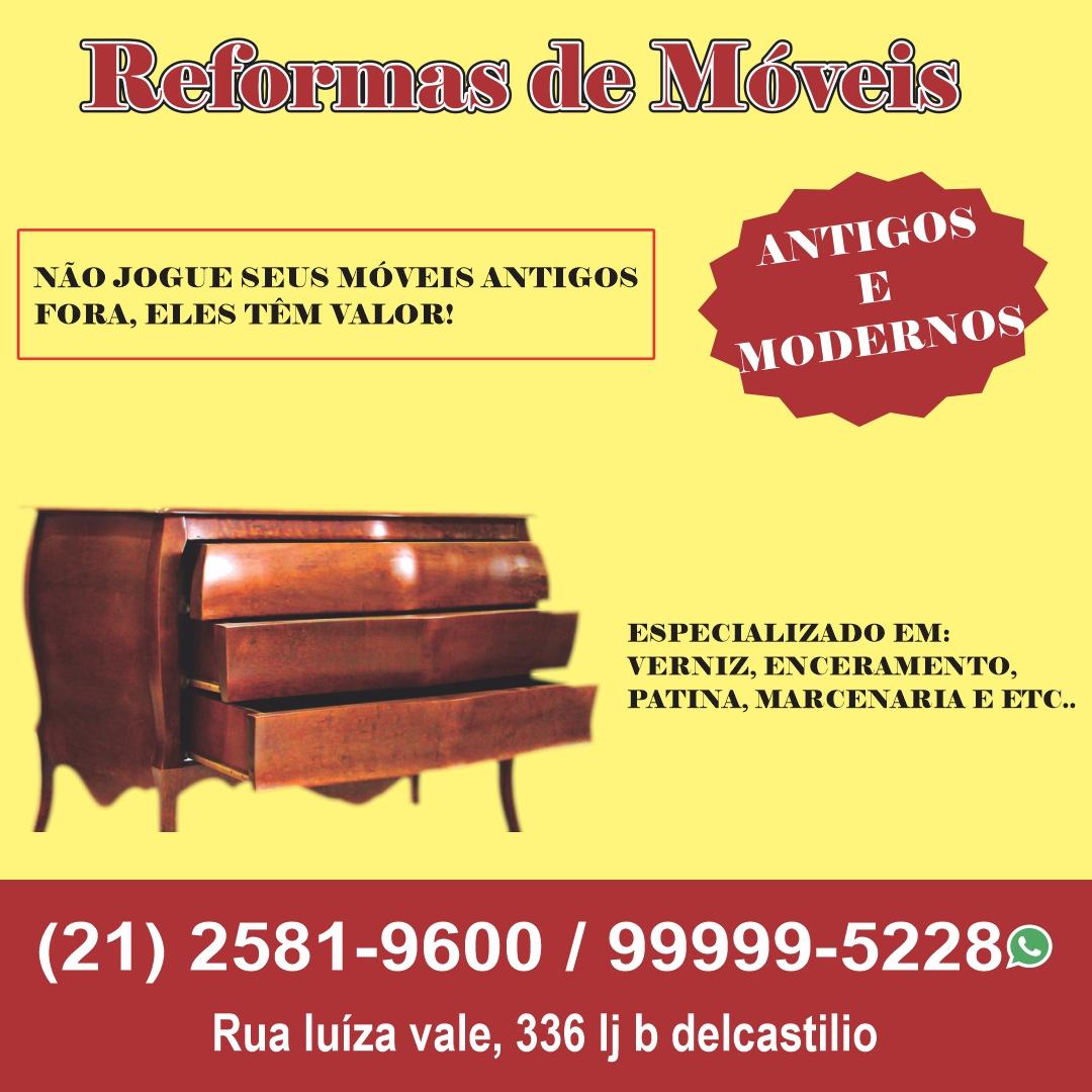 Reforma de móveis antigos e modernos, móveis planejados