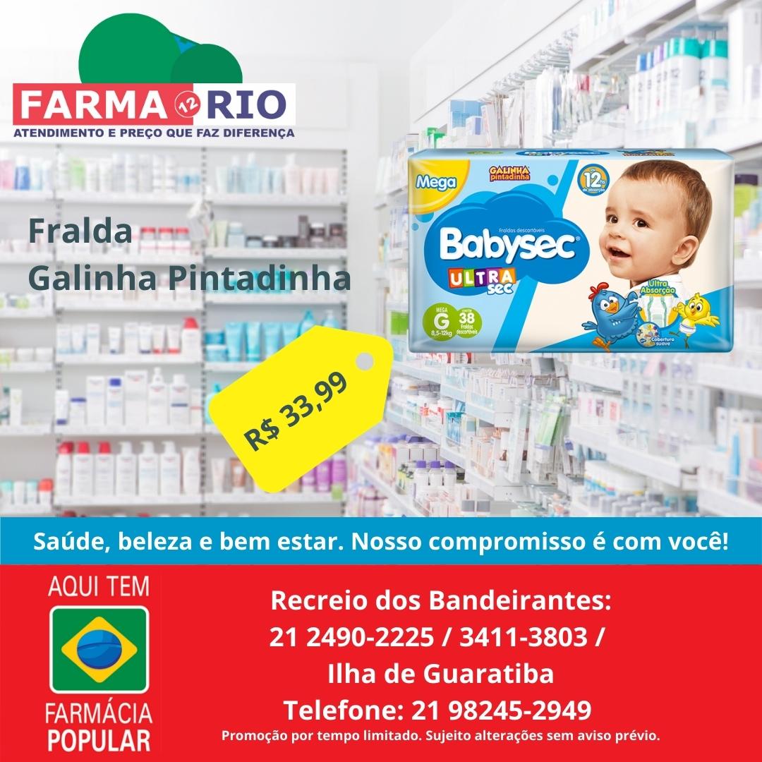 Farmácia e Drogaria no Recreio dos Bandeirantes, Drogaria Farma 12 Rio