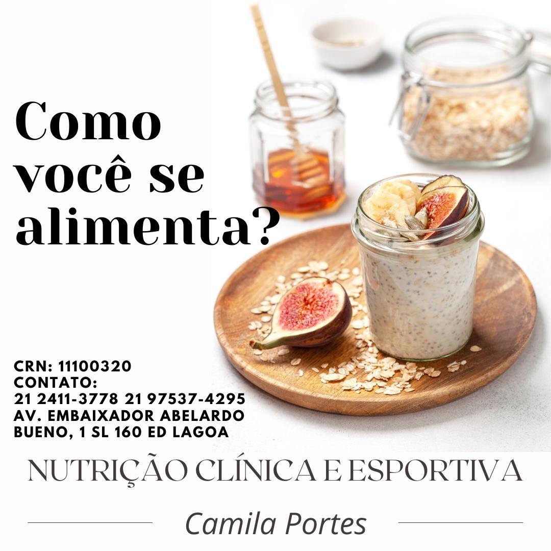 Nutricionista Camila Potes, Nutrição clínica e esportiva