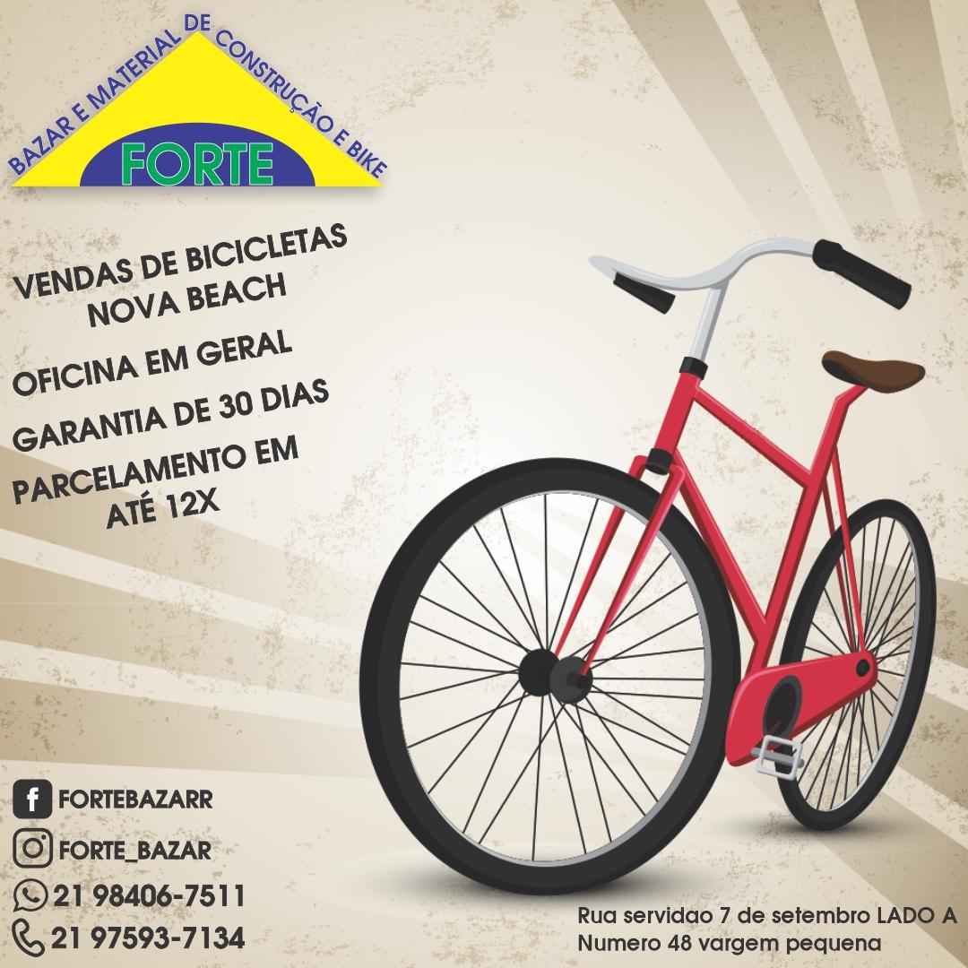 Forte Bazar, Venda e Oficina de bicicletas, Rio de Janeiro Rj