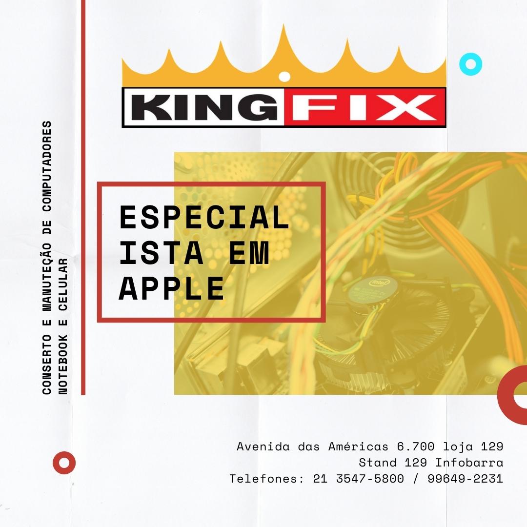king fix, informática, conserto e venda de computador, notebook e celular na Barra, Recreio e JPA