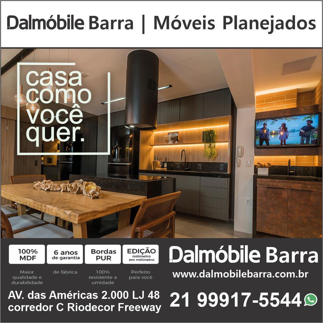 Dalmóbile Barra, Recreio, Jacarepaguá, móveis planejados e decoração.