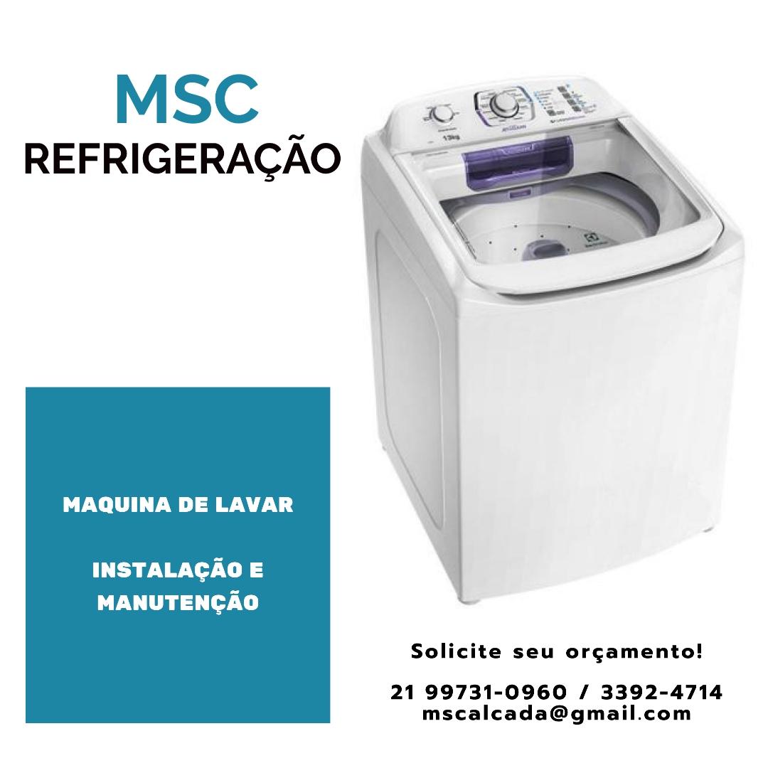 MSC Refrigeração, conserto e manutenção  de ar condicionado Split, ar de Janela, Geladeira