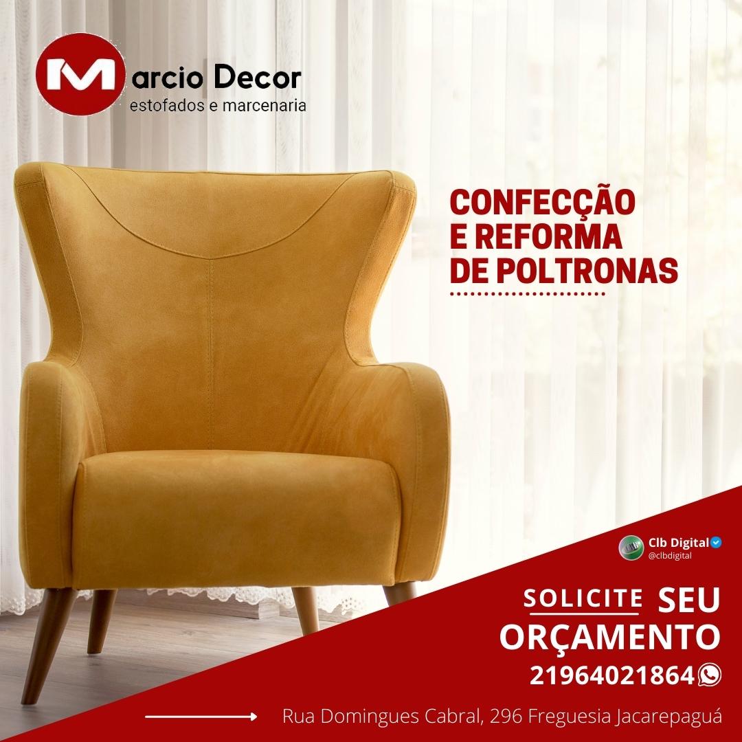 Marcio Decor, Reformas de estofados em geral,  Jacarepagua, Barra, Recreio Zona sul Rj